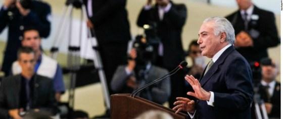 Brazilian Acting President Michel Temer