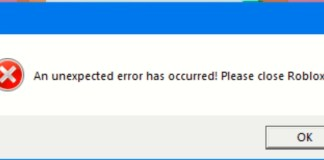 KRNL An Unexpected Error Occurred