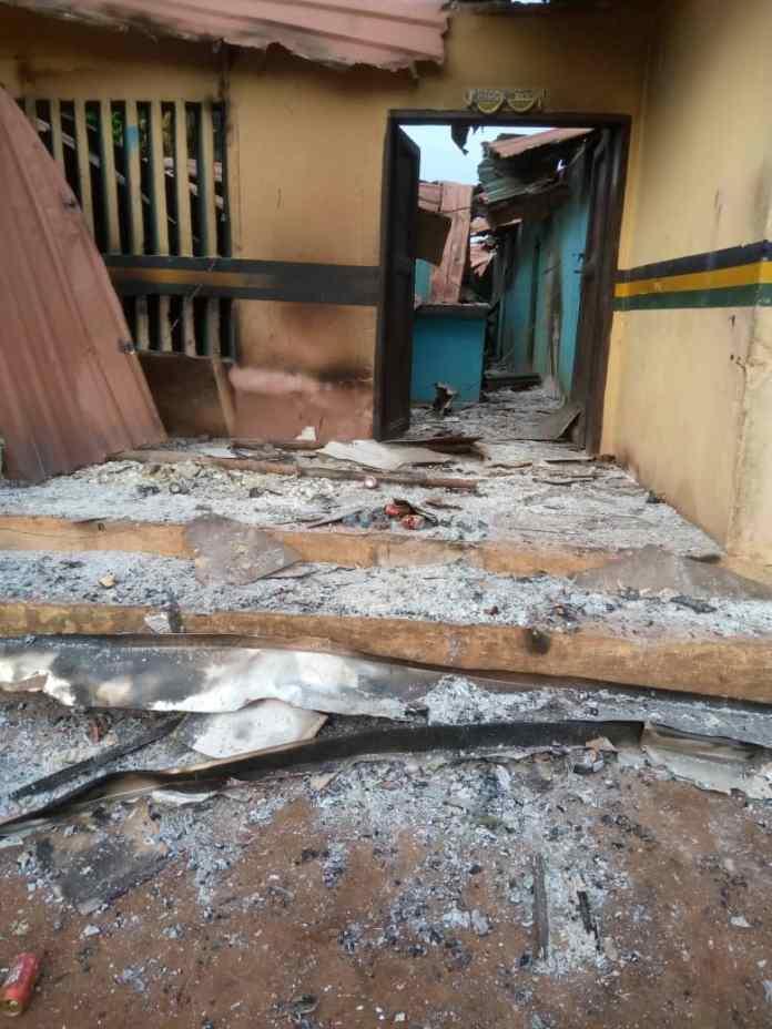 Gunmen Attack Bende Police Station In Abia, Raze Down Building