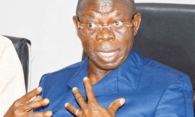 EFCC Goes After Oshiomhole As His Corruption Case File Found In Magu's House