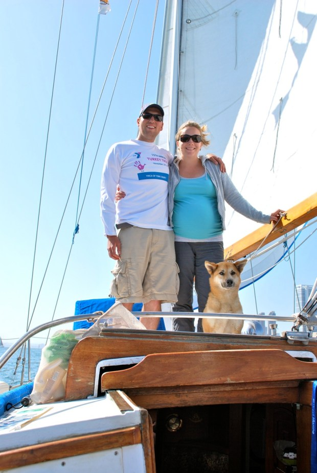 With the wind in our sails