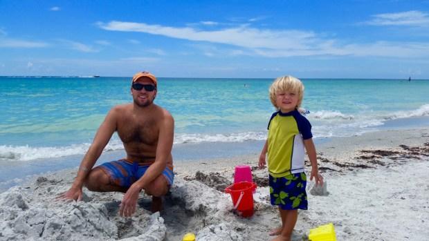 Fun in the sun at Indian Rocks Beach