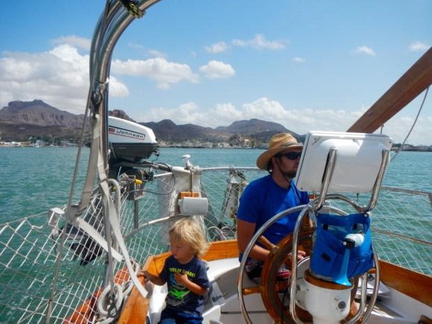 Astraea's last underway for the spring cruising season