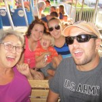 We had fun riding the miniature train