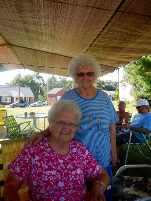 Grandma and Aunt Anna