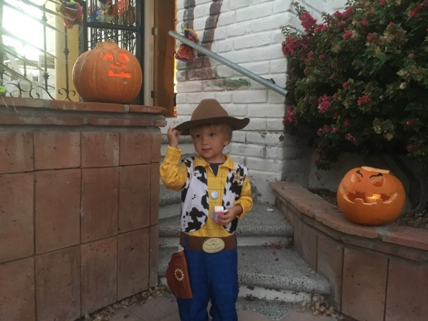 Howdy, it's Sheriff Woody from Toy Story