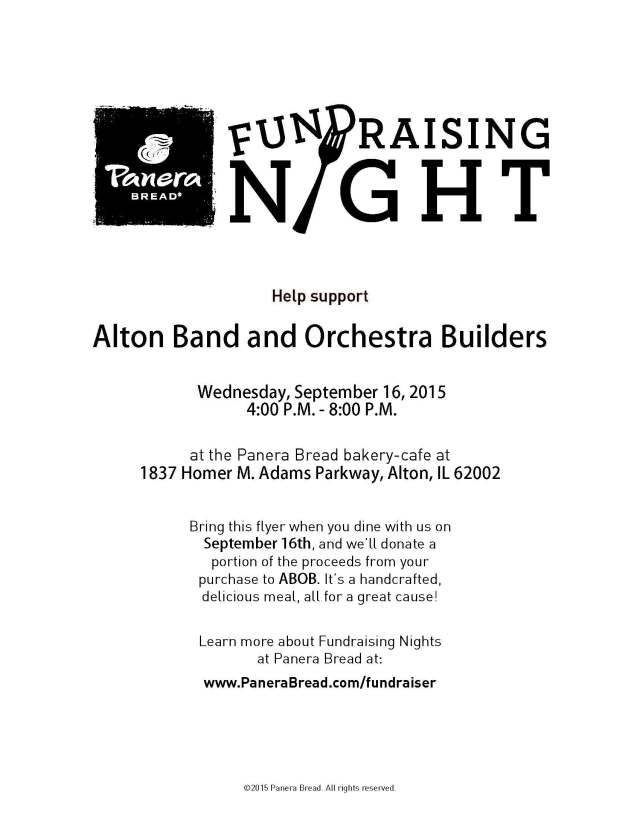FLYER- Alton Band and Orchestra Builders