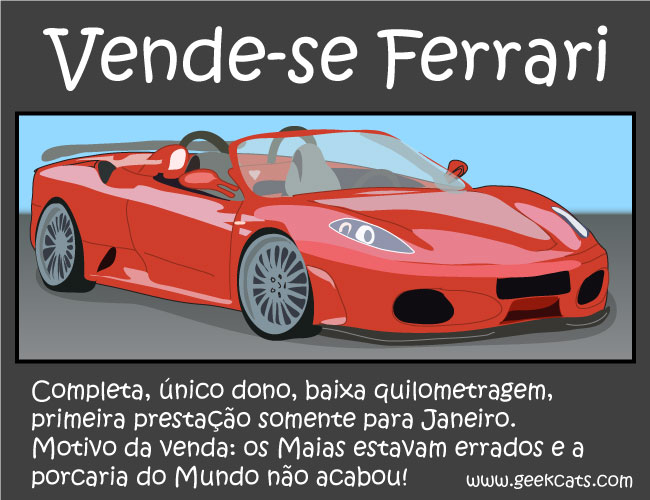 Vende-se Ferrari