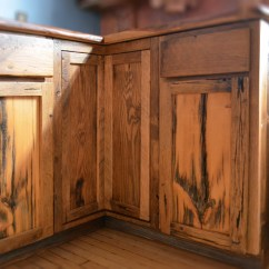 Pull Out Shelves For Kitchen Block On Wheels Rustic Cabinets | Abodeacious