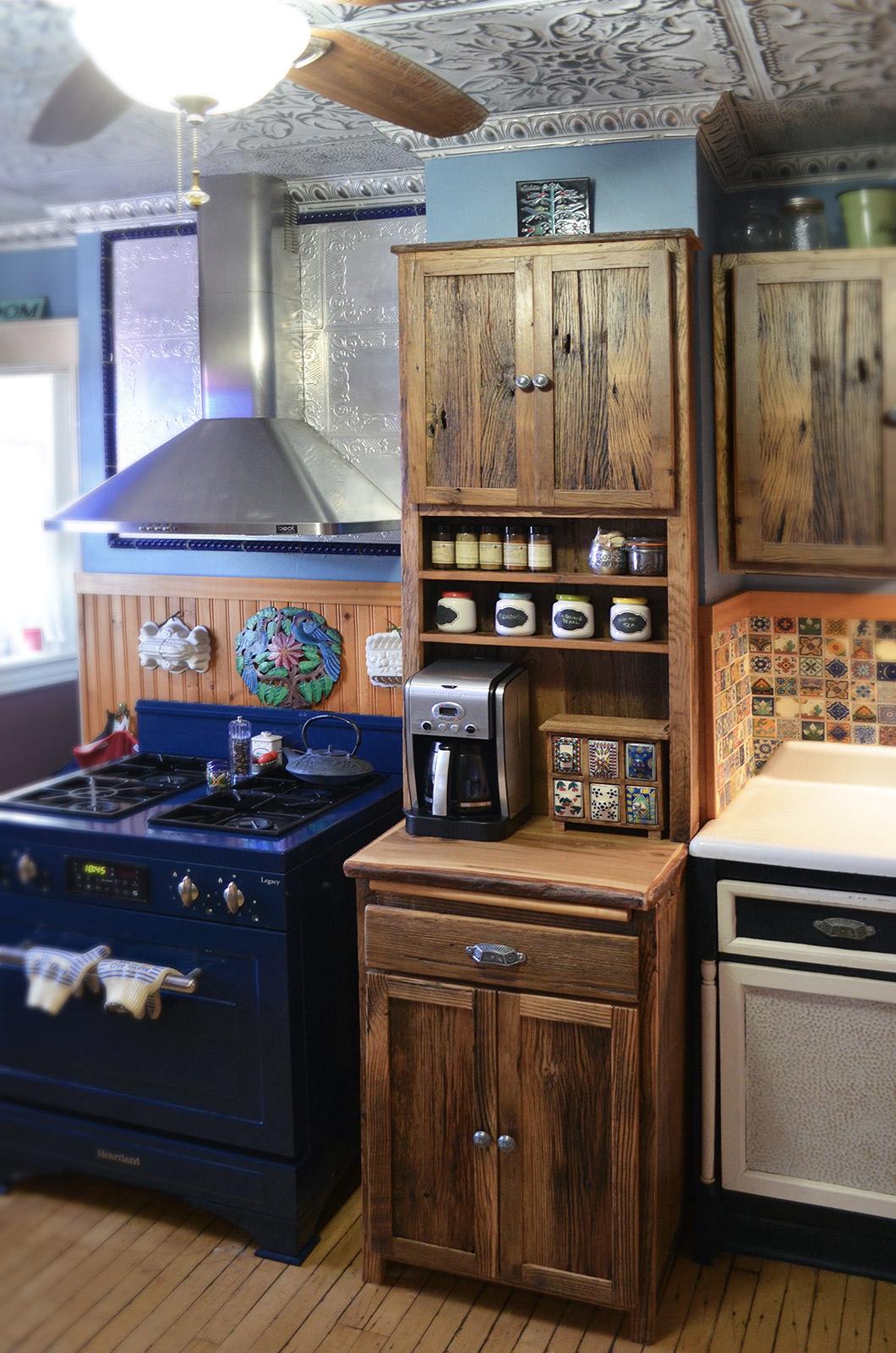 Rustic Spice Cabinet Abodeacious