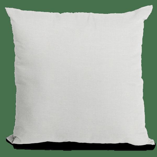 White Linen Throw Pillow