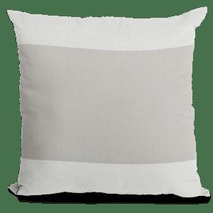 Grey Block Pillow