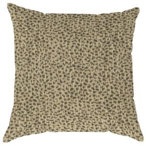 cheetah pattern throw pillow