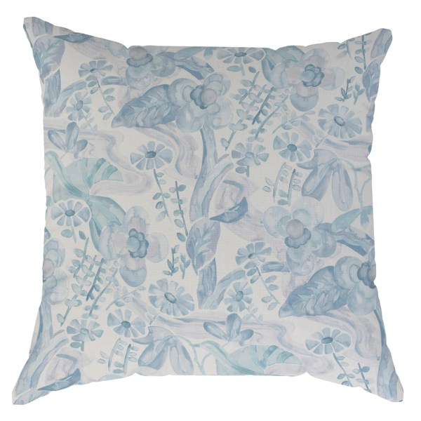 Sophie shades of blue fabric