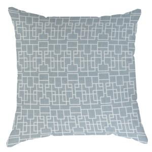 Tettres Blue Grey Pillow