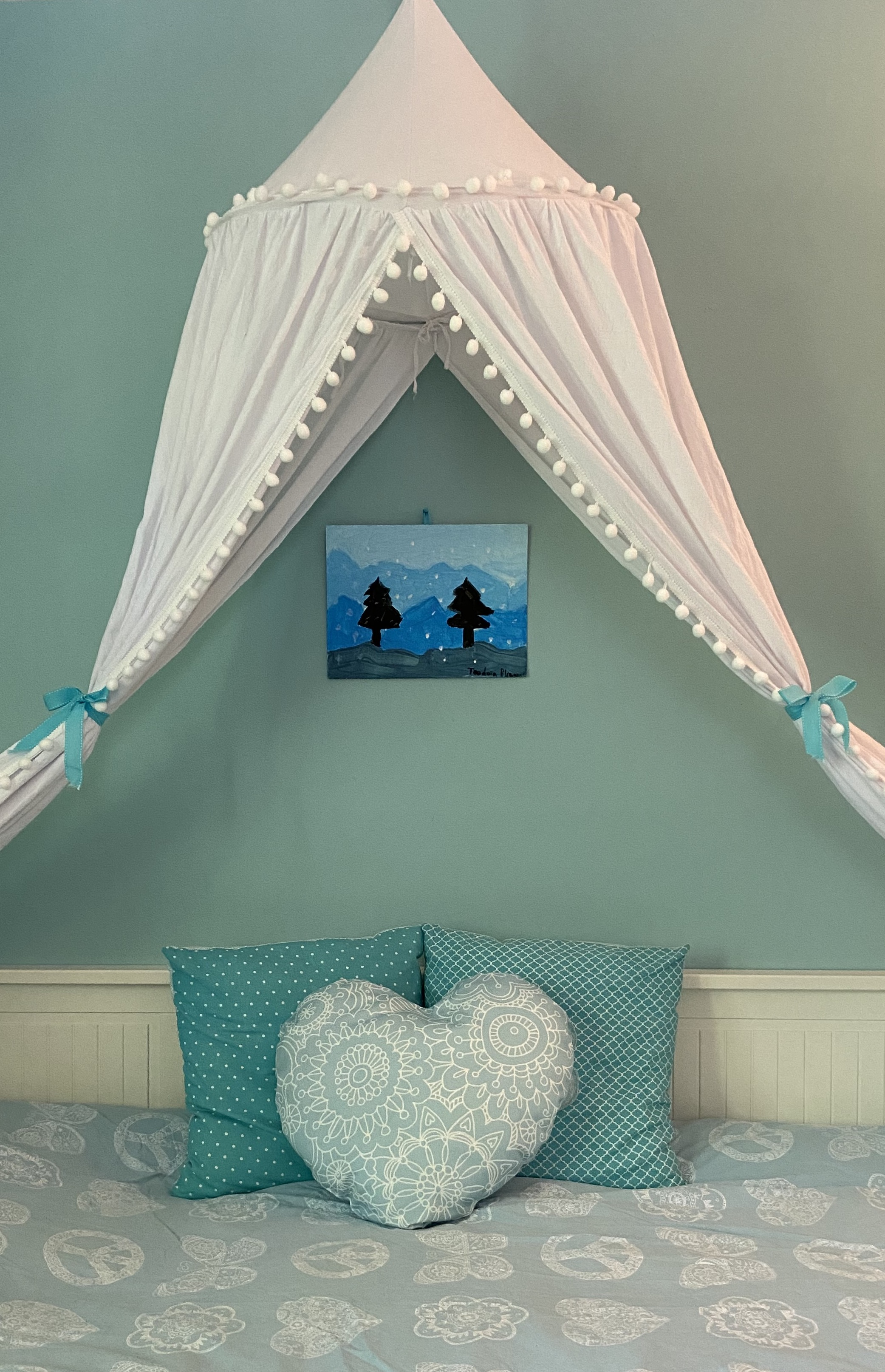 Girl Room Canopy Bed