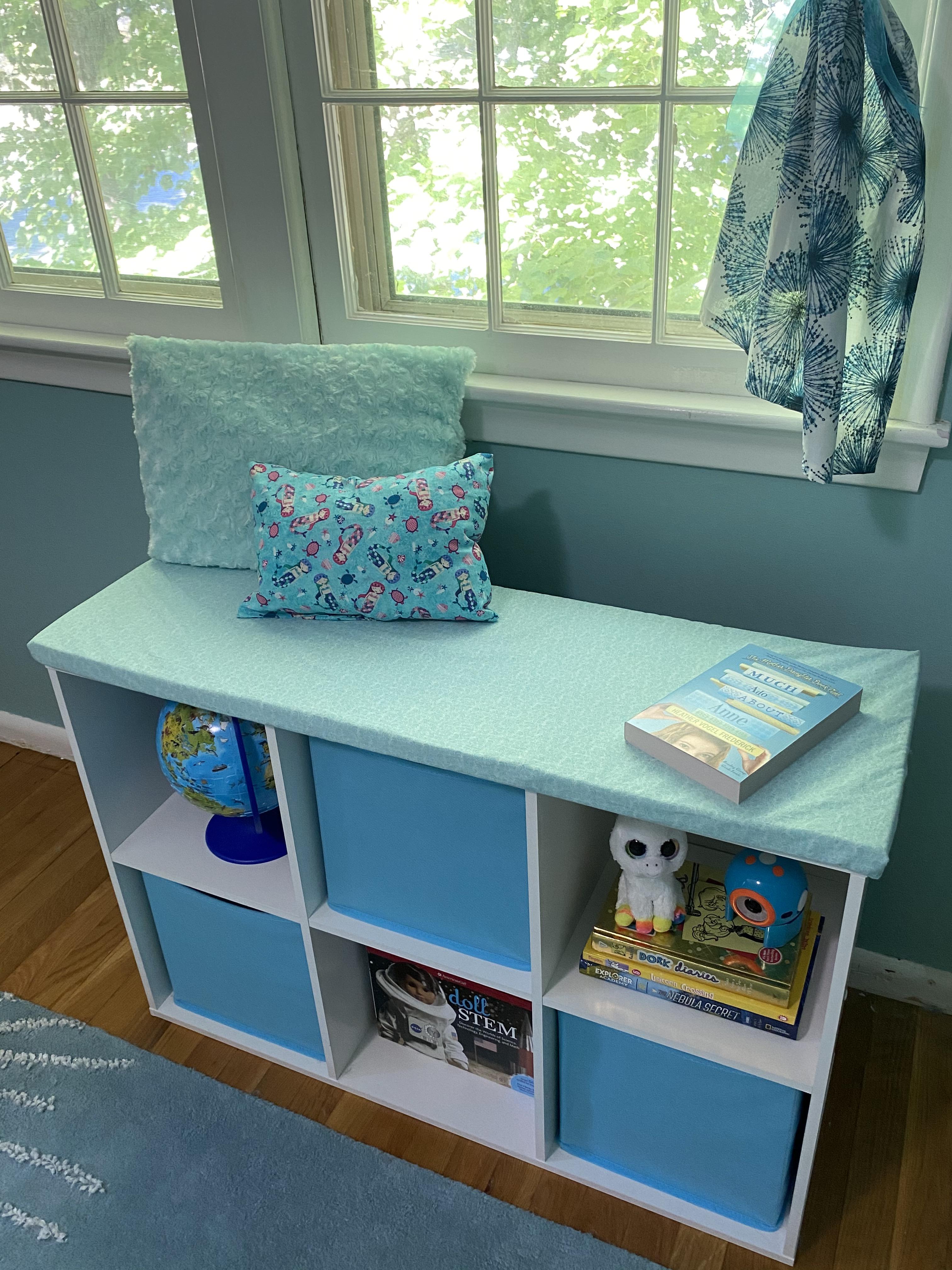 Girl Room Window Seat