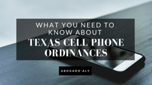 Abogado Aly Cell Phone Ordinance