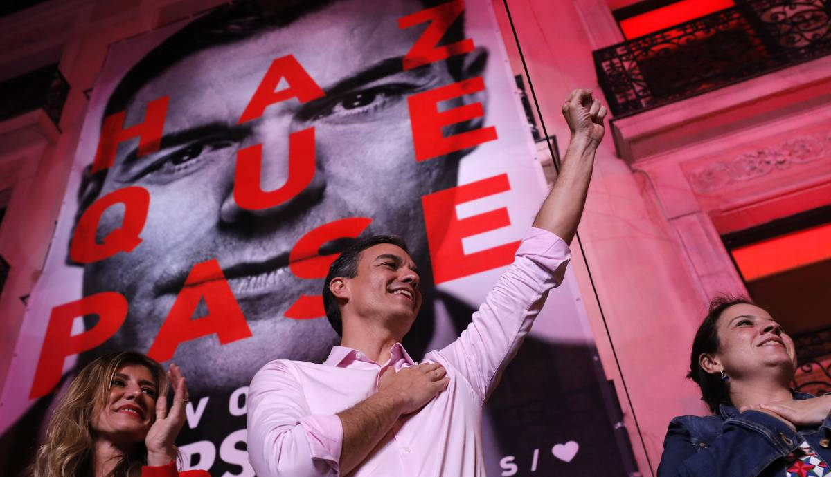 Vamos a detener el proyecto de Sánchez para destruir España