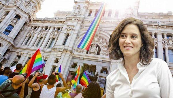 Ayuso: derogue la Ley LGTBI