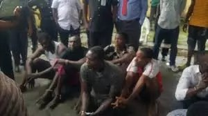 gunmen suspected of attacking a state leader being arrested