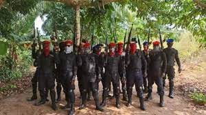 men group in the eastern part of Nigeria