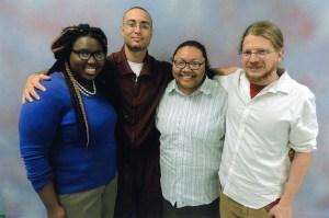 Nikki, Saleem, Kris and Bret