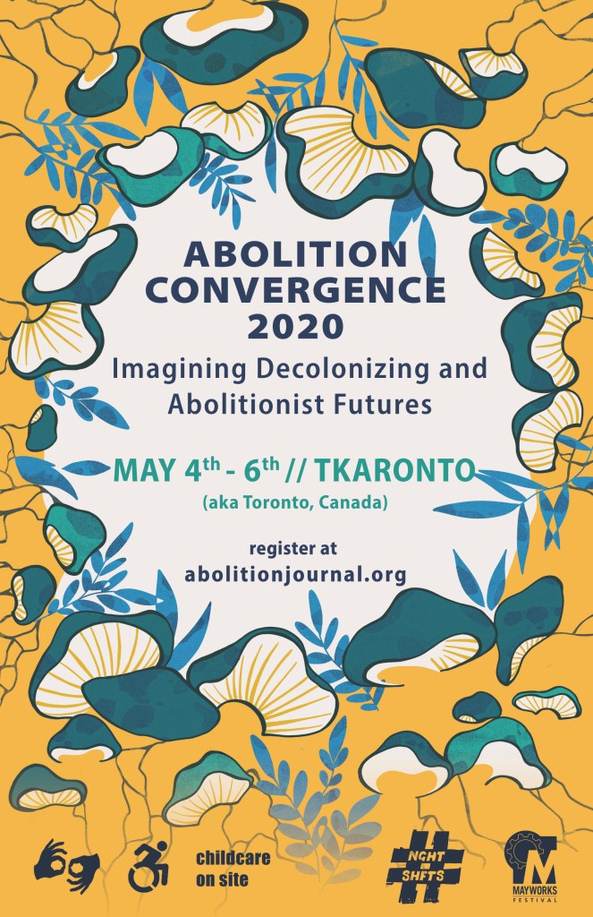 Abolition 2020 Convergence Toronto