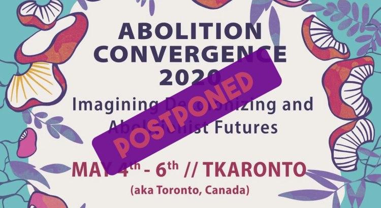 Postponed: Abolition 2020