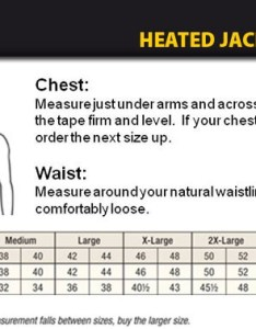 Dewalt heated jacket sizing chart also rh aboloxsafety