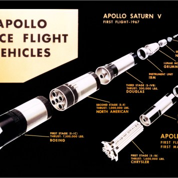 مراحل الصاروخ المختلفة