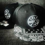 Fazooli Logo Flatbrim Snapback Hats