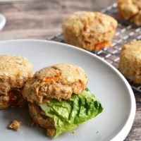 Goats' Cheese and Sun-dried Tomato Scones