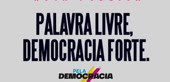 Nota pública em defesa das liberdades de expressão e de imprensa no Brasil