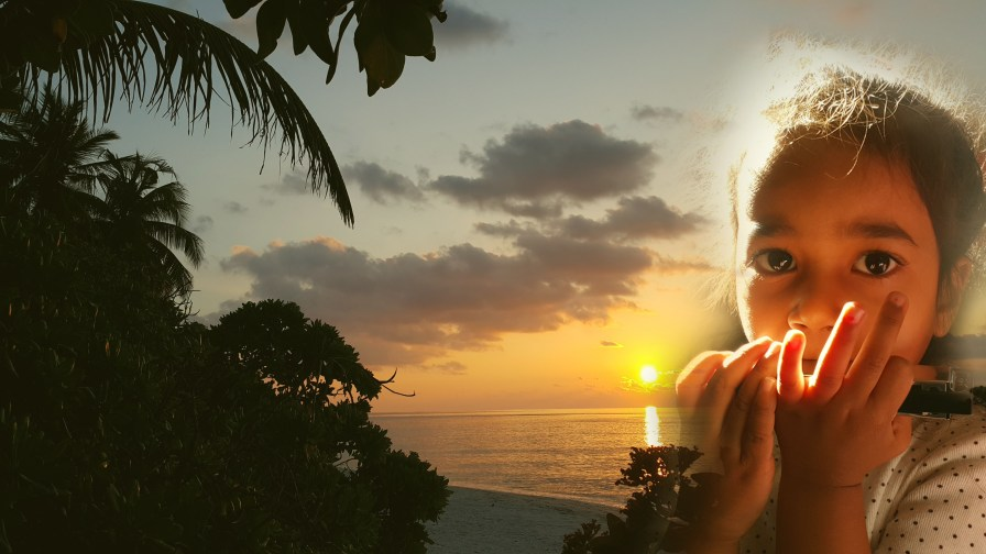 sunset-girl