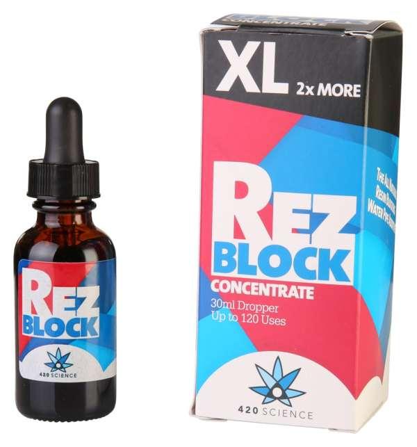RezBlock טיפות לשמירה על נקיון כלי עישון