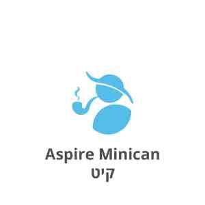 Aspire Minican Pod Kit אספייר מיניקאן קיט