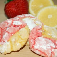 Strawberry Lemonade Cookies