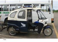 Picture of a motorized tricycle taxi