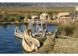 Picture of boats made of straw