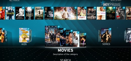 MyPrime Video on Demand upc cablecom
