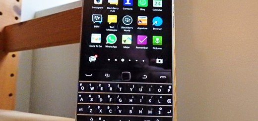 Blackberry Menu