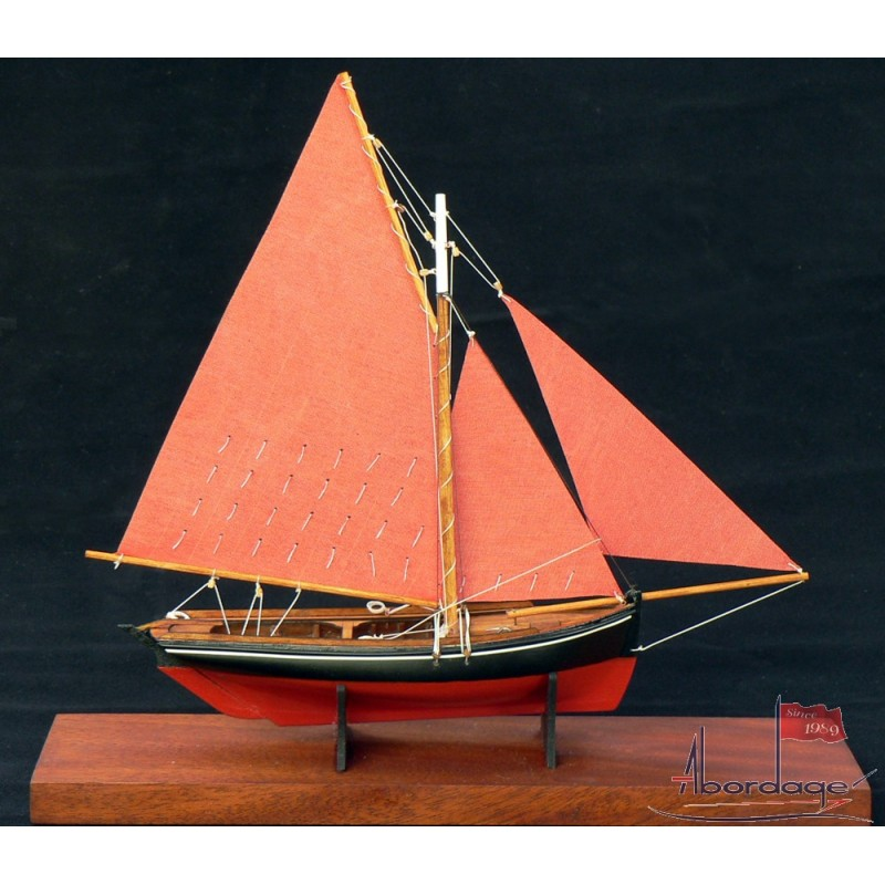 galway hooker collectible hand crafted desk model in