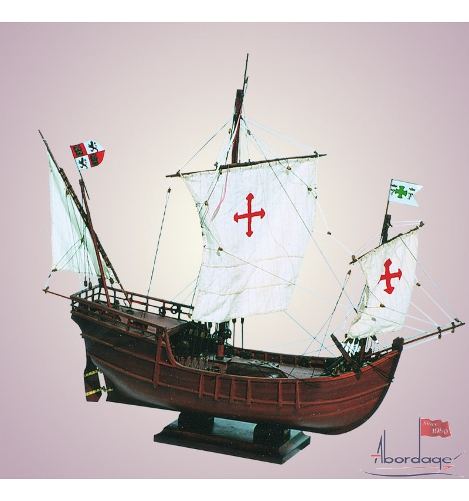 La Nia the smallest Caravel of Columbus  Quality Boat Model