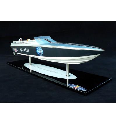 handcrafted cigarette go wild racing boat model