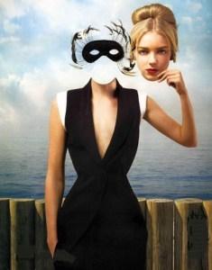 Séduire Naturellement femme masque