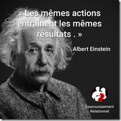 actions Einstein
