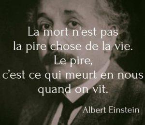 albert Einstein La mort