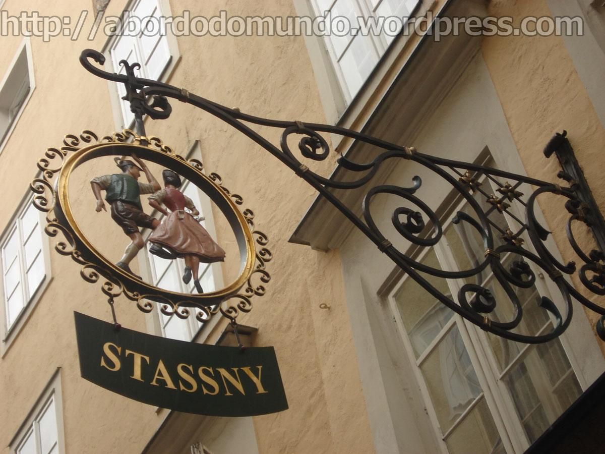 Detalhe rua em Salzbrug, Austria
