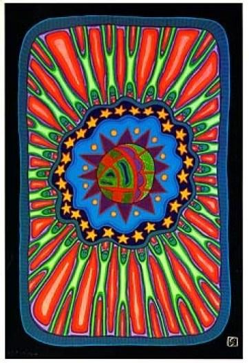 Aboriginal Artist Sally Morgan 1951 - Heaven and Earth -